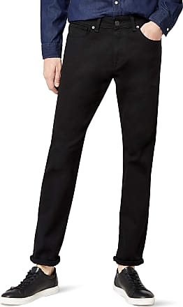 Selected Homme Mens Shnstraight-Scott 1001 Black St JNS Noos Straight Jeans, W33/L32 (Size: 33)