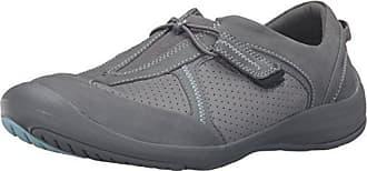 Clarks Womens Asney Slipon Fashion Sneaker, Grey Nubuck, 7 M US