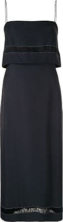 Dion Lee sloat slip dress - Blue