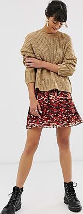 Whistles ikat animal print flippy mini skirt-Multi