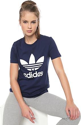 adidas Performance Camiseta adidas Originals Trefoil Azul-Marinho