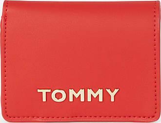 Tommy Hilfiger Portefeuille trois volets plaque logo