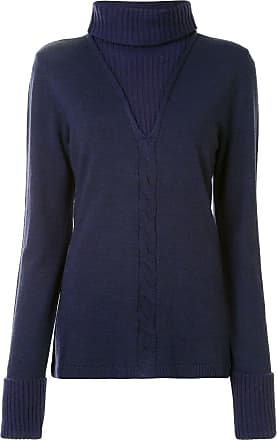 Onefifteen layered turtle-neck jumper - Black
