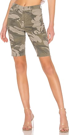 GRLFRND Beverly High-Rise Long Short in Go Rogue