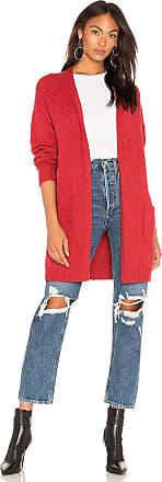 Velvet Delina Cardigan in Red