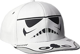 Star Wars Mens Trooper Adjustable Baseball Cap, White One Size