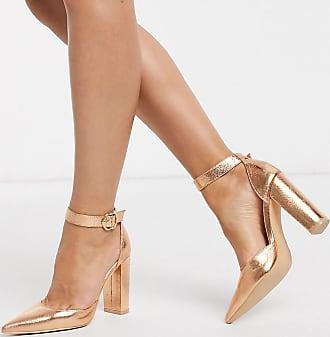 Glamorous Scarpe con tacco largo oro rosa