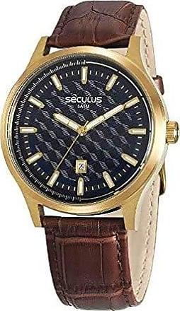 Seculus Relógio Seculus Masculino Ref: 20593gpsvdc2 Casual Dourado