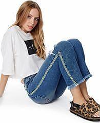 FYI Calça Jeans Gorgurao Lateral Jeans