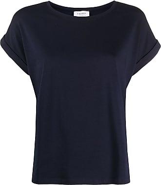 Snobby Sheep Camiseta com mangas dobradas - Azul