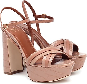 Malone Souliers Mila 125 leather platform sandals