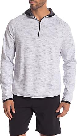 Zella Raglan Sleeve 1/4 Zip Hooded Pullover