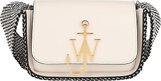 J.W.Anderson Anchor Scarf Logo Bag Marble Umhängetasche weiß
