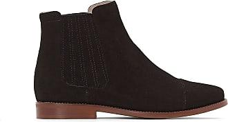 87e4fd4921d Jonak Boots cuir velours Damalis - JONAK - Noir