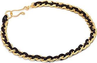 Tinna Jewelry Pulseira Dourada Corrente (Cadarço)