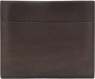 Rick Owens Logo-debossed Leather Cardholder - Mens - Black