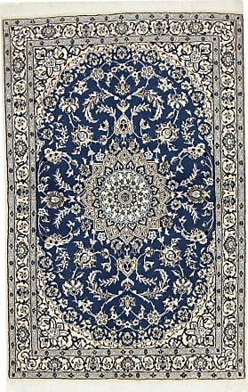 Nain Trading 170x110 Tappeto Fatto A Mano Nain 9La Grigio Scuro/Blu Scuro (Lana / Seta, Persia/Iran)
