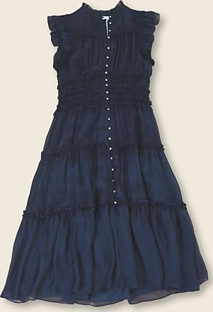 Ulla Johnson Blaues Rosalind Kleid - 8