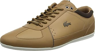 Lacoste Mens Evara 118 1 Low-Top Sneakers, Brown (Brown Cam00302b1), 9.5 UK