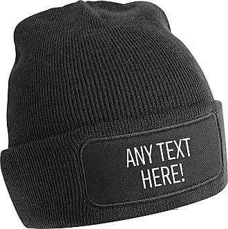 Flox Creative Black Beanie Any Text Here