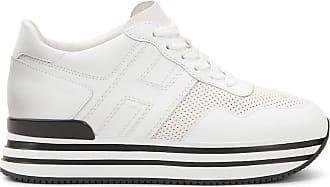 Hogan Midi H222, CREME,WEISS, 37.5 - Schuhe