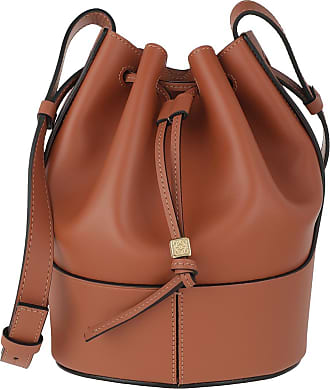 Loewe Balloon Small Bag Tan Beuteltasche cognac