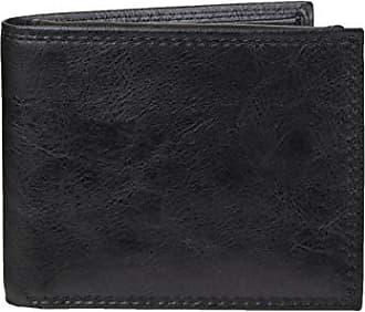 Amazon Essentials Mens RFID Blocking Passcase Bifold Wallet, Black, One Size