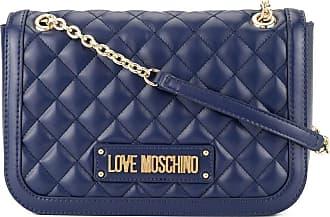 Love Moschino Bolsa tiracolo matelassê - Azul