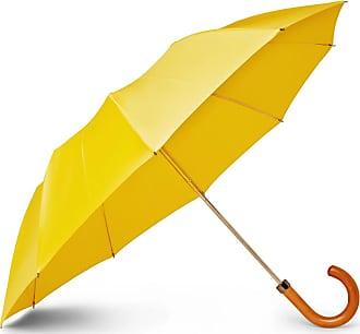 London Undercover Maple Wood-handle Umbrella - Yellow