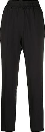 Fabiana Filippi high-rise slim trousers - Black