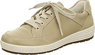 Ara Damen Sneaker beige Leder von Größe 38 bis 42 mit Wechselfußbett, Damen  Größen  e537fd952e