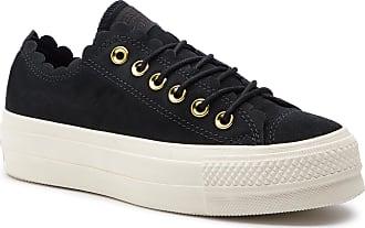 71e9fb95 Converse Zapatillas de tenis CONVERSE - Ctas Lift Ox 563499C Black/Gold /Egret