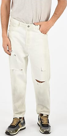 Balmain Straight Fit Distressed Jeans 18 cm Größe 33