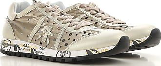 Premiata Sneakers for Women On Sale, Platinum, Leather, 2017, 10 11 7 8 9