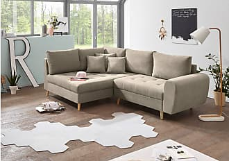 Stylefy North Carolina Ecksofa Links Creme