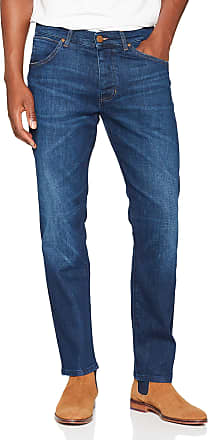 Wrangler Mens Ton Straight Jeans, Blue (for Real 027), W34/L34