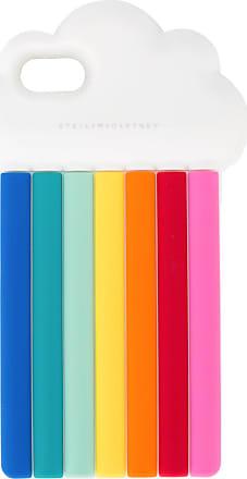 Stella McCartney Capa para iPhone 7 Rainbow - Branco