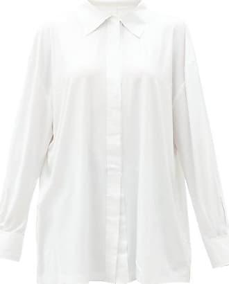 Norma Kamali Oversized Poplin Shirt - Womens - White