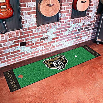 Fanmats 22115 Oakland Putting Green Runner 18x72