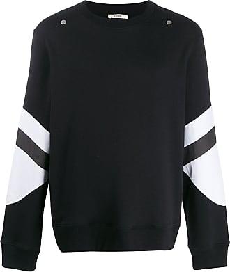 Zilver contrast panel sweatshirt - Black
