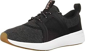 Keds Womens Studio Flair Jersey Sneaker, Charcoal, 7.5