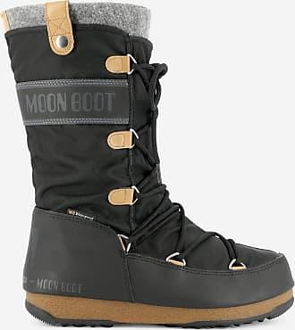 Noir Boot Moon Boot ski Après Felt Moon Monaco xBreWdCo