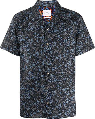 Paul Smith Camisa mangas curtas com estampa abstrata - Preto