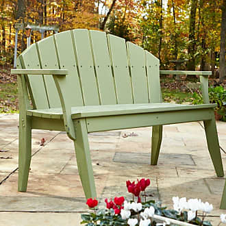 UWharrie Chair Outdoor Uwharrie Plaza Patio Bench with Arched Back - P073-073W