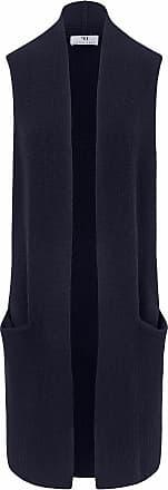 Peter Hahn Cardigan in 100% new milled wool Peter Hahn blue