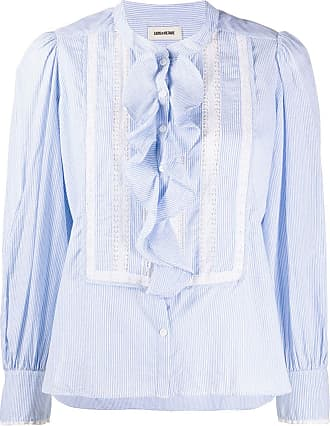 Zadig & Voltaire Temple striped shirt - Blue