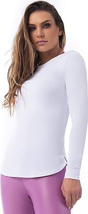 Vestem Blusa Manga Longa Line Branco