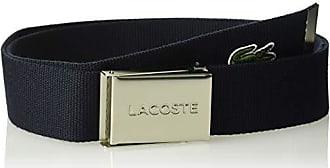 c032b0278c236b Lacoste Mens Textile Signature Croc Logo Belt Accessory