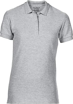 Gildan Gildan Womens/Ladies Premium Cotton Sport Double Pique Polo Shirt (2XL) (Sport Grey (RS))