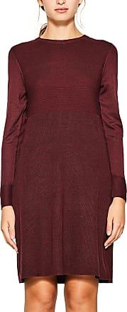 EDC by Esprit Womens 107cc1e009 Dress, Red (Bordeaux Red 600), Medium